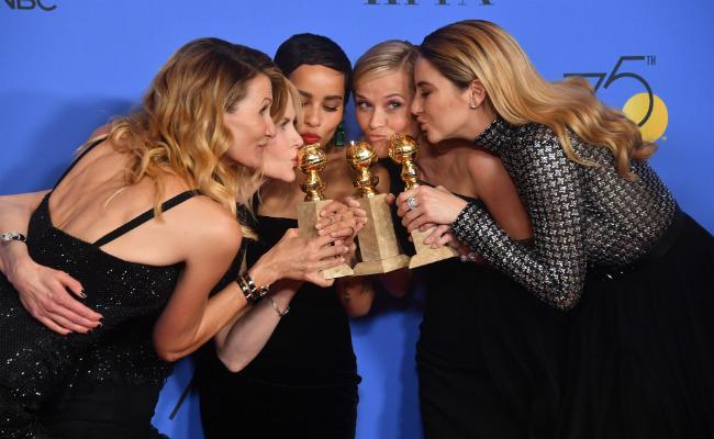 Asistieron de negro a los Golden Globes 2018 como forma de protesta