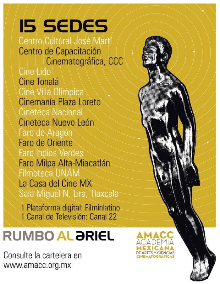 Premios Ariel 2018 - AMACC