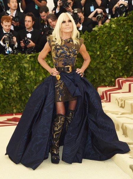 Donatella Versace-Met Gala