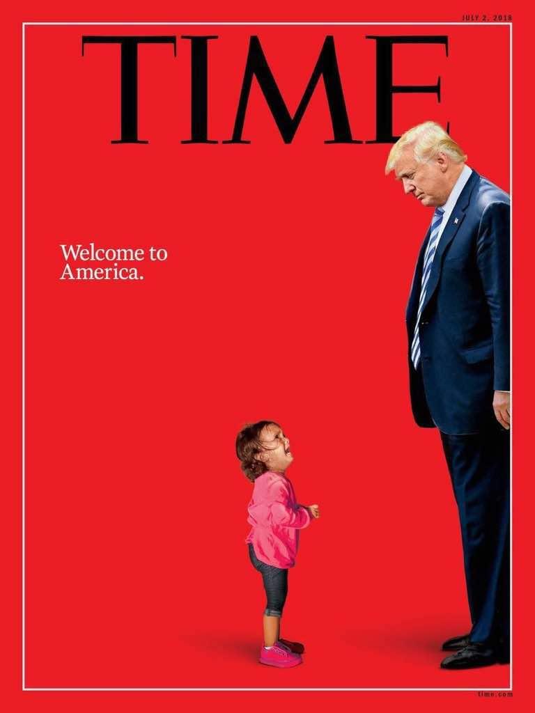 Portada de la revista TIME julio 2018