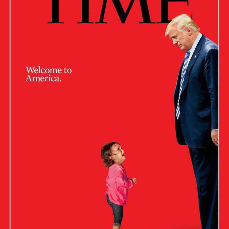 Portada de la revista TIME julio 2018