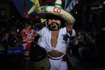 No faltó la chispa de la fiesta mexicana.