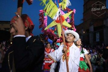 El color y la vestimenta tradicional que representaba a México emocionó al público que se reunió en el Jardín Principal para presenciar el homenaje.