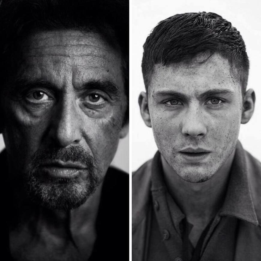 Al Pacino y Logan Lerman