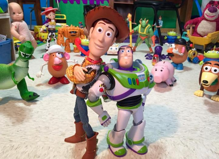 toy story stop motion
